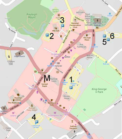 map of Rayleigh car parks> <br> </p>   <p class=